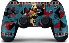 !!! THIS ONE FOR SURE,!!! Harley Quinn PlayStation 4 / PS4 DualShock4 Controller Skin