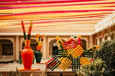 Destination Wedding in Jodhpur With colourful Mehendi Ideas To Steal - Witty Vows Sangeet Outfit, Mehendi Outfits, The World Is Flat, Couple Moments, Destination Wedding Locations, Bridal Stores, Jodhpur, Bridal Portraits, Indian Bridal