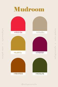 Flat Color Palette, Color Schemes Colour Palettes, Neutral Colour Palette, Color Psychology, Web Design, Color Stories, Color Theory, Color Inspiration, Pizza Rolls
