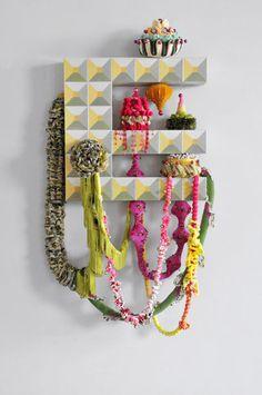Mixed Media #Crochet Boxes by #artist Joana Vasconcelos