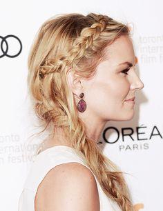 Messy braids | Jennifer Morrison