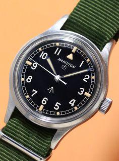 HAMILTON  Royal Air Force 1960'S Vintage Military Watch
