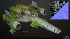 ArtStation - Battlestar Galactica : Squadrons - Komodo, Alexandre Etendard Digital Sculpting, Game Assets, Komodo, Battlestar Galactica, Concept Art, Modeling, 3d, Artwork, Conceptual Art