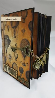 Art some craft: Prima Cartographer Hybrid journal/mini album