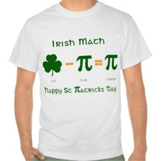 =>quality product          St Patricks Day & Pi Day Combination T Shirt           St Patricks Day & Pi Day Combination T Shirt in each seller & make purchase online for cheap. Choose the best price and best promotion as you thing Secure Checkout you can trust Buy bestThis Deals       ...Cleck Hot Deals >>> http://www.zazzle.com/st_patricks_day_pi_day_combination_t_shirt-235351514144137072?rf=238627982471231924&zbar=1&tc=terrest
