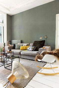 wandfarben 2016 trendfarben wohnzimmer soldatengrün pastellfarbe wandfarbe