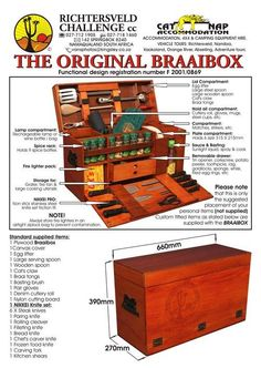 The original SA Braai Box