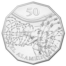 Australia 2015 50c El Alamein Uncirculated Coin - Downies.com