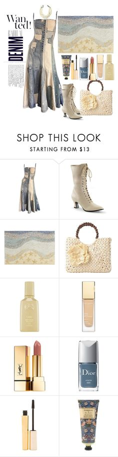 """Untitled #393"" by loves-elephants ❤ liked on Polyvore featuring Alima, Ralph Lauren, Pier 1 Imports, Clarins, Yves Saint Laurent, Christian Dior, Stila and William Morris"