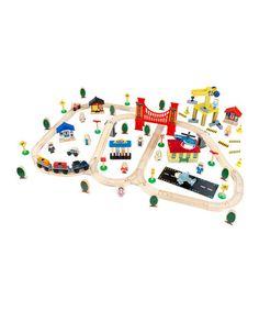 City Train Set by KidKraft on #zulily