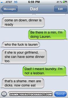 hahaha Men are dicks!
