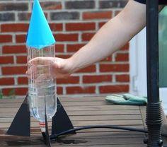 Esperimenti scientifici per bambini – Razzo ad acqua | Lapappadolce