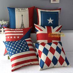mixed cushions