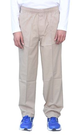 Romano 100% Cotton Basic Track Pant Lower Beige -- You can get additional details, click the image : 99 cent sports and outdoors