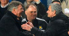 West Ham manager Sam Allardyce has revealed he received a congratulations text message from Chelsea boss Jose Mourinho moments after his side sealed a win over Manchester City. Soccer News, Football Soccer, Manchester United Football, Manchester City, Sam Allardyce, Chelsea News, Upcoming Matches, Nail Biting, Eden Hazard
