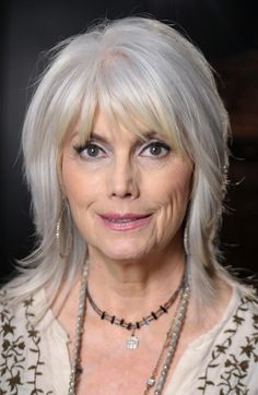 Hairstyles with bangs for women over 50