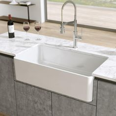 Lovely 28 Apron Sink