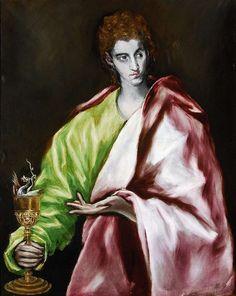 El Greco, San Juan Evangelista