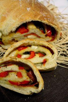 Italialainen täytetty leipä