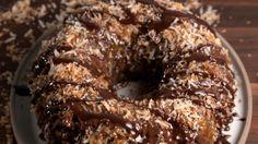 Samoa Bundt Cake  - Delish.com