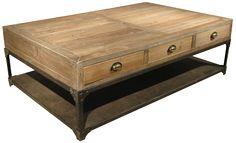 Rustic Industrial coffee table