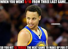 RT @NBAMemes: Steph Curry sets new NBA record with 13 threes! - http://nbafunnymeme.com/nba-funny-memes/rt-nbamemes-steph-curry-sets-new-nba-record-with-13-threes-2