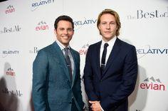 James Marsden (Dawson) and Luke Bracey (Younger Dawson) - 'The Best of Me' Premiere - 7 October 2014, Photo by Frazer Harrison (Getty Images) #nicholassparks