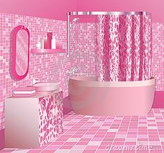 Google Image Result for http://www.dreamstime.com/luxury-pink-bathroom-thumb12974699.jpg