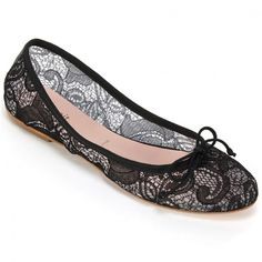 """<p>Signature+ballet+flat+with+intricate+lace+fabric+and+leather+sole.+Lace+to+the+Summit!+We+take+one+of+spring's+biggest+trends+to+the+heights+with+this+vintage+style+flat.+Looks+best+with+a+flowy+dress+or+capris.+Heel+height:+1/4""""</p> <p></p> <p><br+/><em>Please+click+""""View+Sizing+Guide''+link+to+access+product+specifications,+fit+tips+&+sizing+conversion+information.</em></p>"""