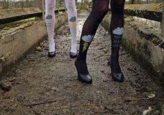Nachos n' Ankle Boots l Alexia Felix: Que tal uma meia-calça inusitada?