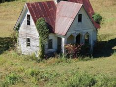 Abandoned House 2 by lsh_01 on Flickr. Taken from a train in North Carolina.
