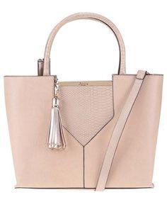 Tělová kabelka do ruky s detaily v barvě zlaté Dune London Doreen