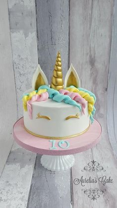Unicorn cake by Aurelia's Cake