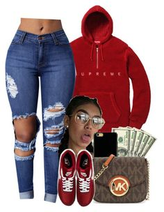 Michael michael kors and nike lit outfits, dope outfits, school outfits, co Lit Outfits, Swag Outfits For Girls, Chill Outfits, Cute Swag Outfits, Teenager Outfits, Dope Outfits, College Outfits, Teen Fashion Outfits, Trendy Outfits