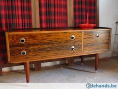 Tv meubel on pinterest tv furniture retro and color schemes - Vintage woonkamer meubels ...