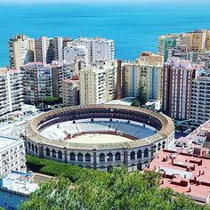 Plaza de Toros. #Malagueta #Málaga #Andalucía #España #Spain