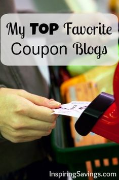 More Couponing Resources – My Top 10 Favorite Coupon Blogs