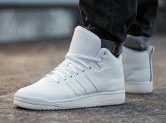 hot sale online feba7 22838 adidas Originals Veritas Mid Leather  White Sneakers Outfit Men, Best  Sneakers, Adidas Sneakers