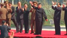North Korean leader Kim Jong Un opens the Ryomyong street residential complex as tensions mount.