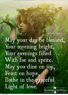 May your day be blessed