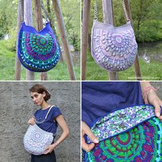 Peacock Tail Bag CAL (Crochet Along) August 17, 2016 Part 1 will be released…