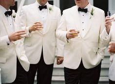 pretty white beaux + white dinner jackets|calder clark ©|tec petaja|ford plantation