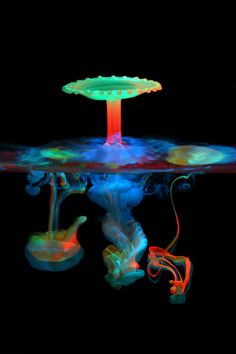 Amazing what this photographer can do with liquid, color and light. http://www.liquiddropart.com/