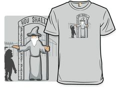 Halfling Height Requirement t-shirt.  $12.00
