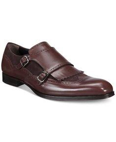 Mezlan Men's Pinel Double Monk Wingtip Oxfords - 25% off Fashion Newness - Men - Macy's