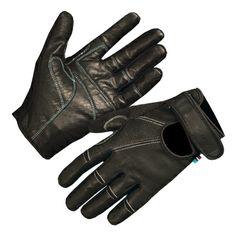 Endura leather gloves