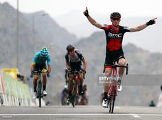 #TOO2017 Ben Hermans of Belgium and the BMC Racing team celebrates winning stage two of the 8th Tour of Oman, a 145.5km road stage from Nakhal to Al Bustan, on February 15, 2017 in Al Bustan, Oman.