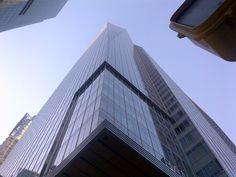Manhattan skyscraper - New York City Skyscraper New York, Manhattan, Places Ive Been, New York City, Beautiful Places, Multi Story Building, Louvre, Travel, Voyage