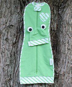 Look what I found on #zulily! Mod' Swad Green Froggie Woombie Sleeping Sack & Beanie - Infant by Mod' Swad #zulilyfinds