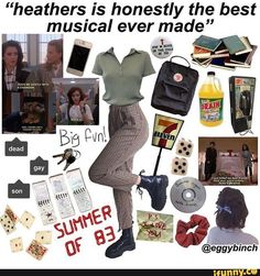 niche meme aesthetic heathers retro musical eighties Fashion Guys, Grunge Fashion, Fashion Models, Fashion Outfits, Retro Outfits, Grunge Outfits, Vintage Outfits, Cool Outfits, Aesthetic Fashion